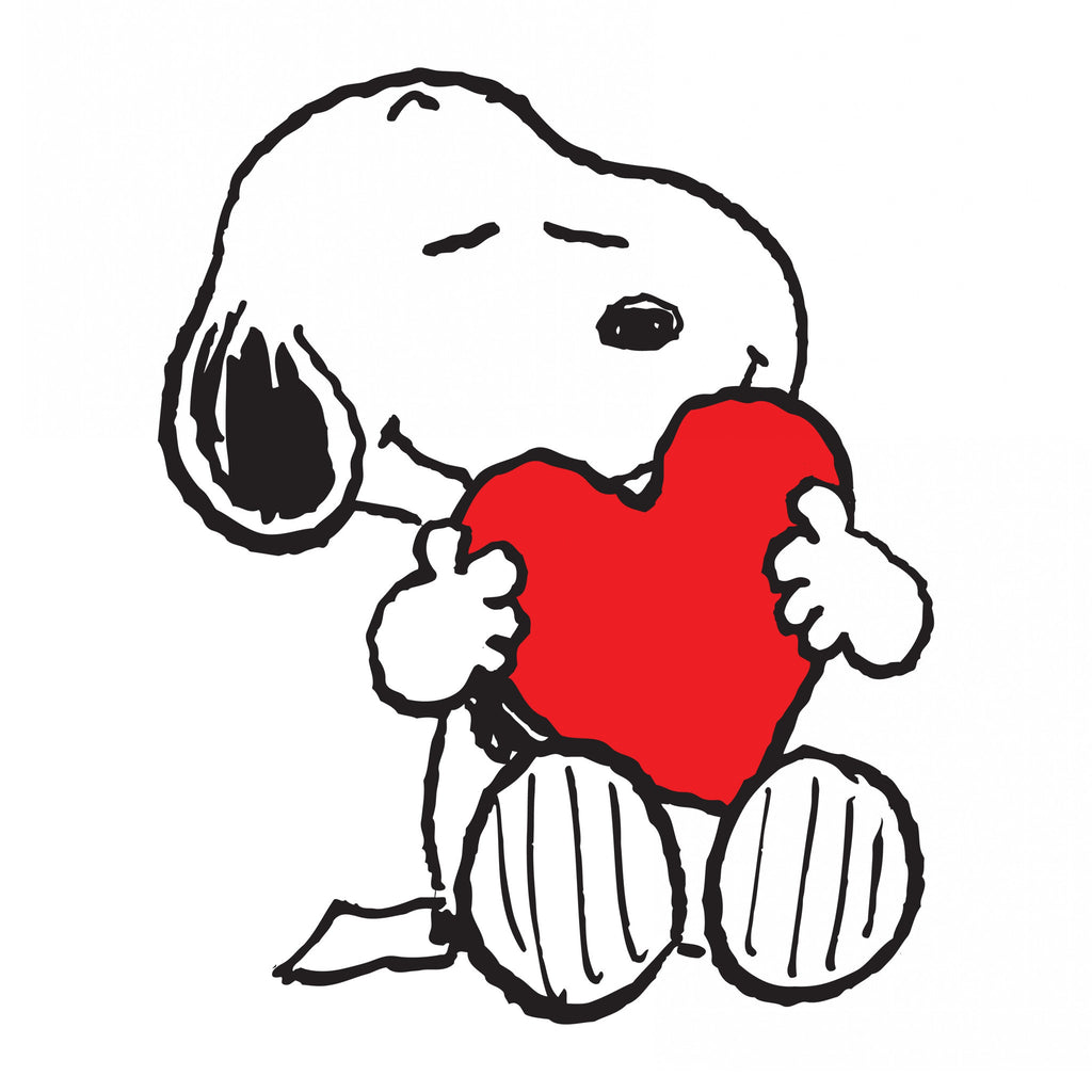 Snoopy Heart Peanuts Canvas – Charlie Brown Art