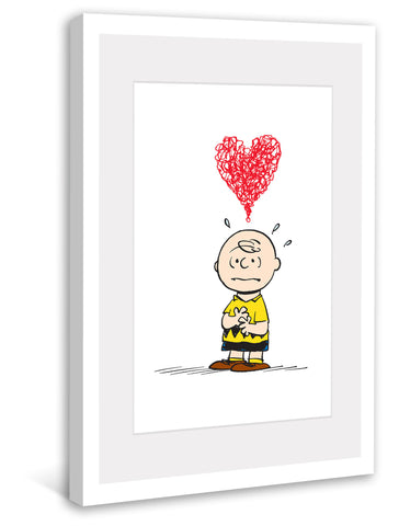 Charlie Brown Red Heart