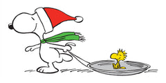 Snoopy Woodstock-Sled