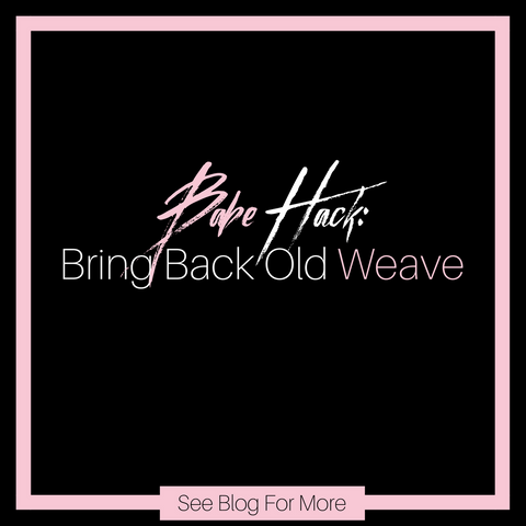 cf32538f42 Revive Your Old Weave