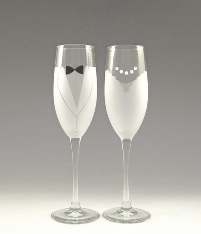 Wedding Toasting Glasses!