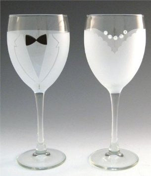 Wedding Toasting Glasses!  (Wine)