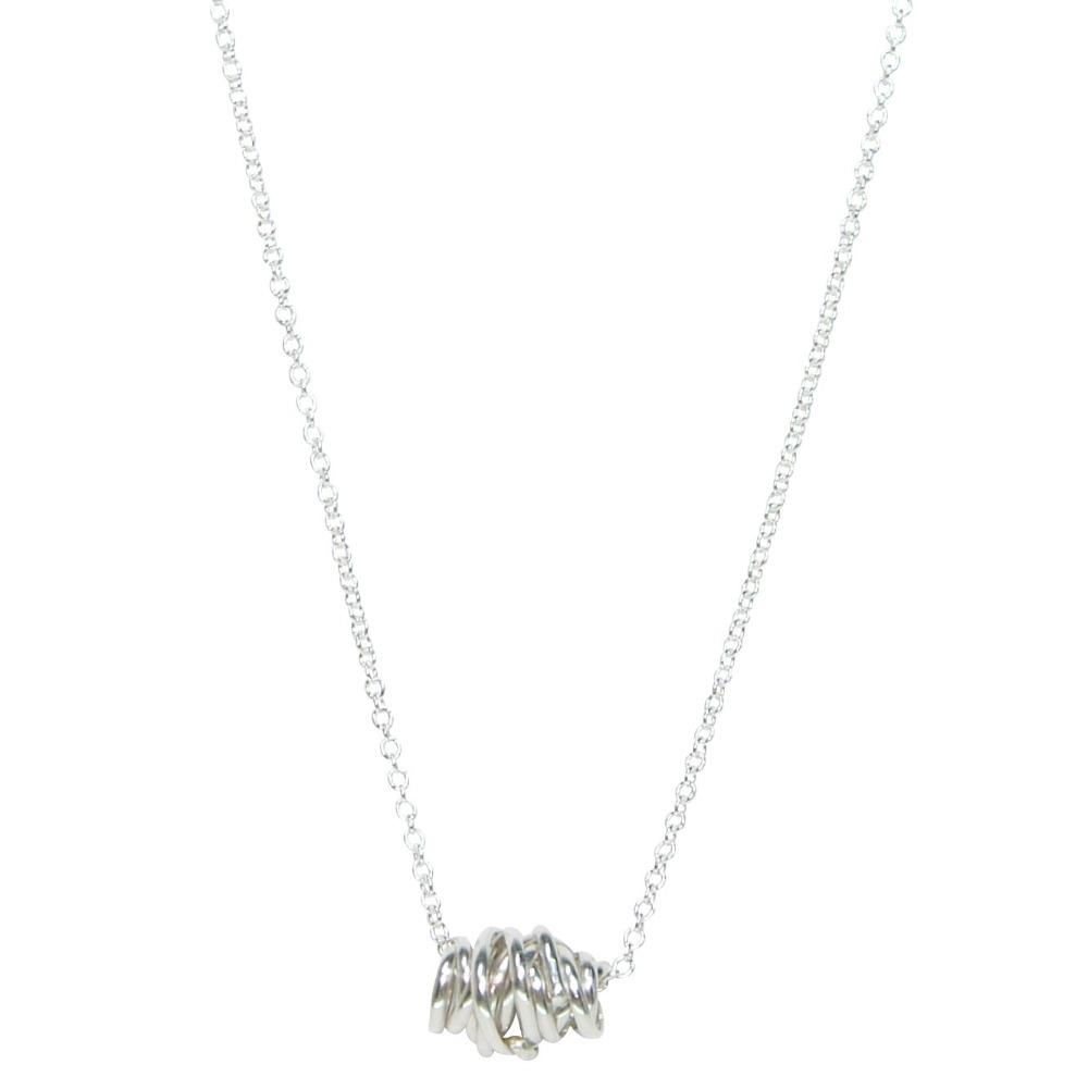 Diane Rogers Twist Necklace-Small