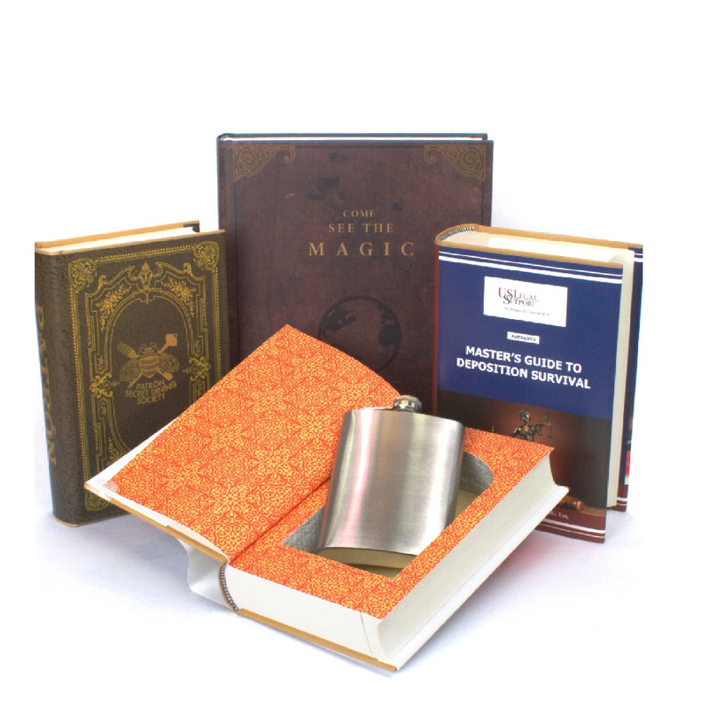 CUSTOM BOOK SAFES