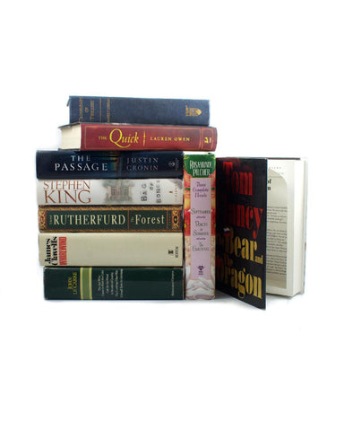 CASE of SIX - Large Traditional Book Safes - Secret Storage Books - 1