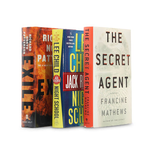 Adventure Fiction Book Safes - 3 Pack - Secret Storage Books