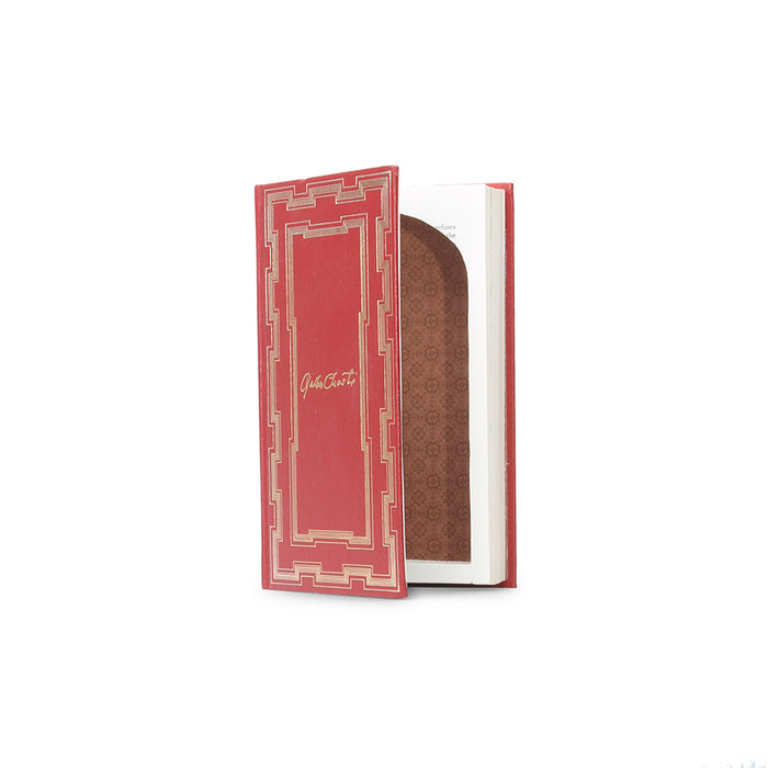 Agatha Christie - Small little red Book Safe