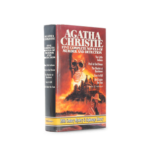 Agatha Christie - Five Complete Novels of Murder - Secret Storage Book