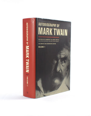 Autobiography of Mark Twain - XL Secret Safe Book - Secret Storage Books