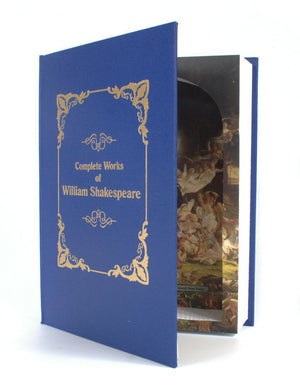 Complete Works of William Shakespeare - XXL Book Safe - Secret Storage Books