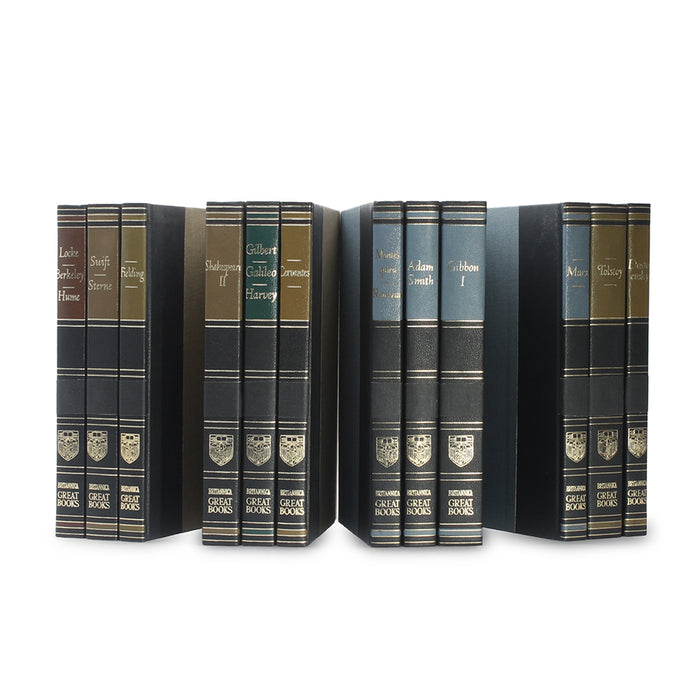 Britannica Great Books - Stack of THREE - Hollow Book Safes