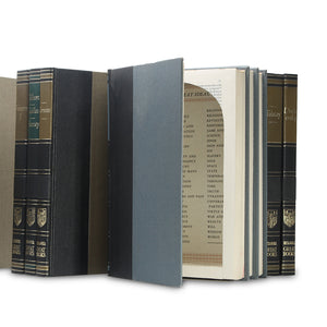 Britannica Great Books - Stack of THREE - Hollow Book Safes - Secret Storage Books
