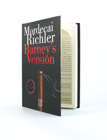 Barney's Version by Mordecai Richler - Medium Book Safe - Secret Storage Books - 1