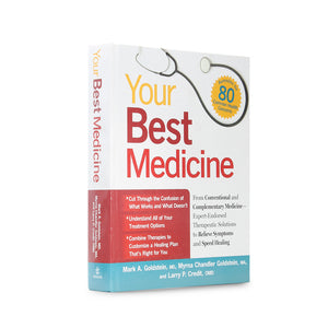 Your Best Medicine - Medium Secret Storage Book - Secret Storage Books