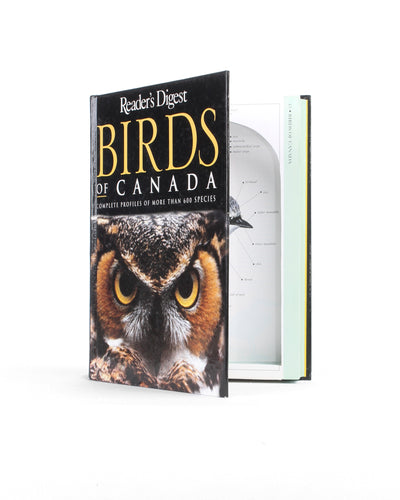 Birds of Canada - Large Hollow Book Safe - Secret Storage Books