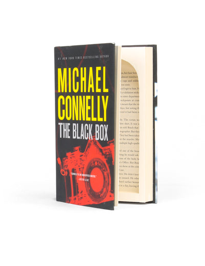 The Black Box by Michael Connelly - Medium Stash Book Box