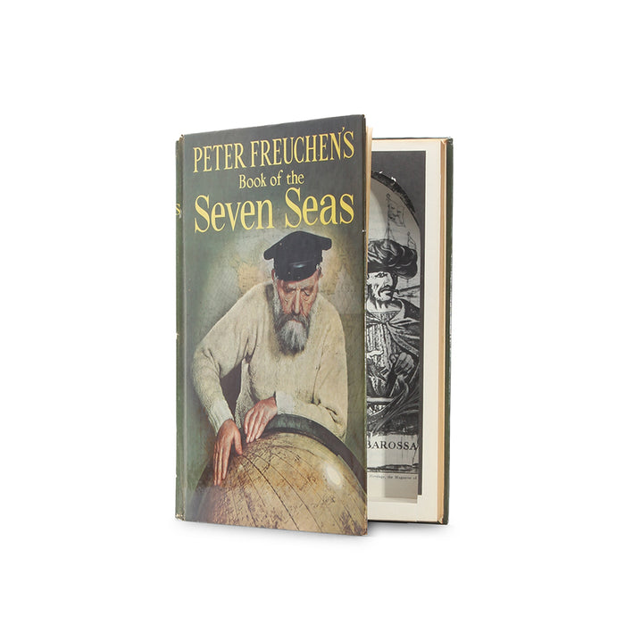 Book of the Seven Seas - Vintage Hollow Book