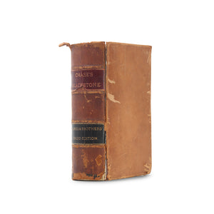 Chase's Commentaries on the Laws of England - Vintage Hollow Book - Secret Storage Books