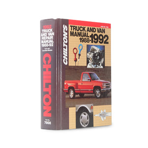 Chilton's Truck and Van Manual - XL Secret Storage Book