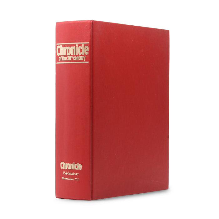 Chronicle of the 20th Century - XL Secret Storage Book Safe