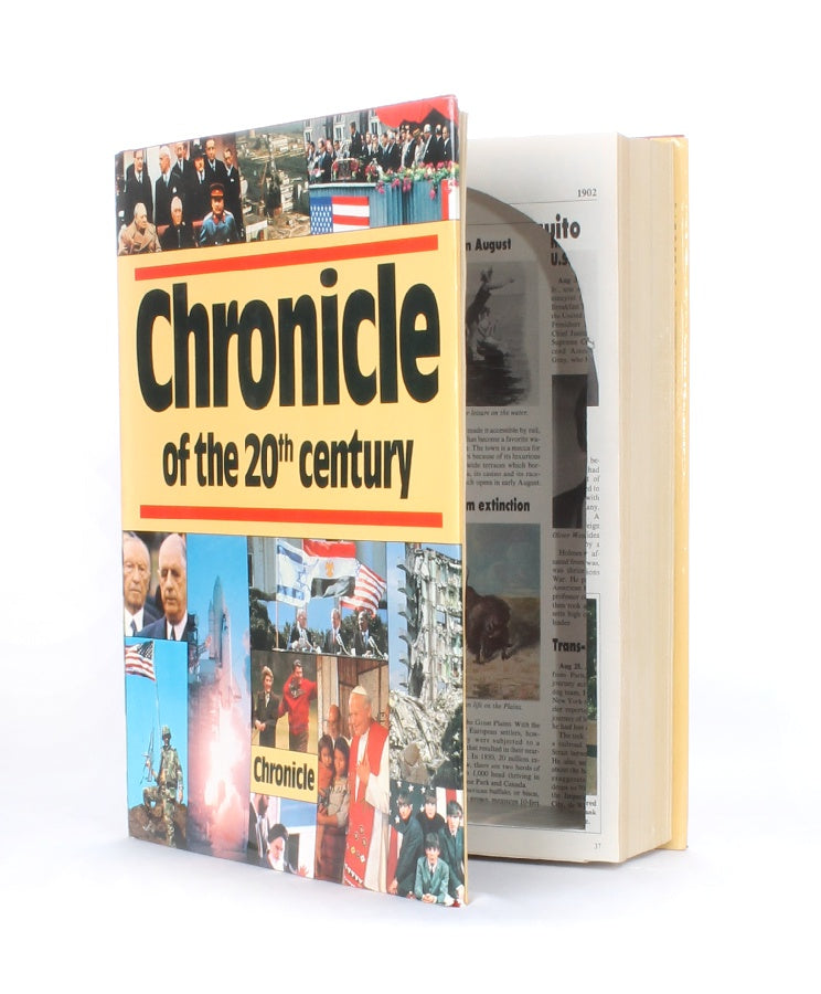 Chronicle of the 20th Century -  XXL Coffee Table Storage - Secret Storage Books