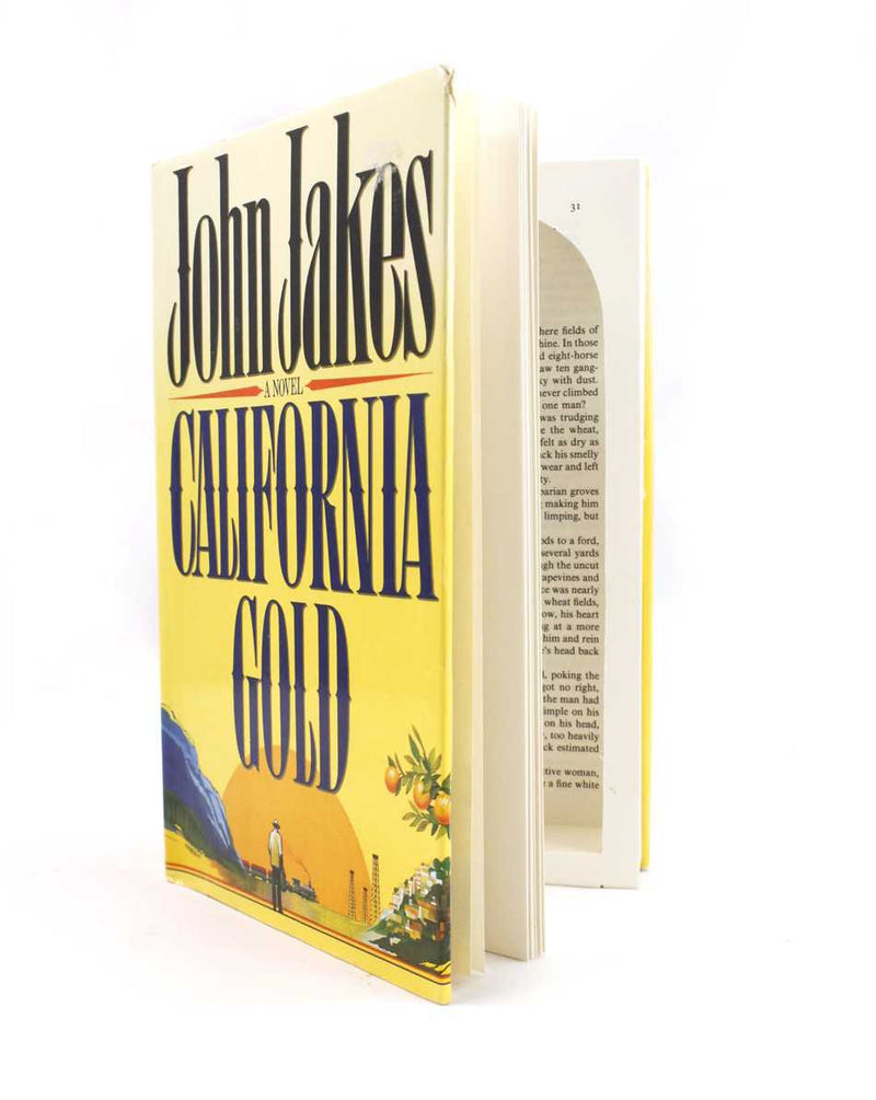 California Gold - by John Jakes - Secret Book Safe - Secret Storage Books