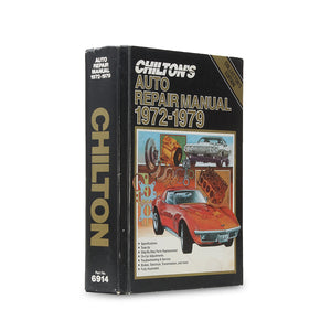 Chilton's Auto Repair 1972-1979 - XL Stash Book - Secret Storage Books