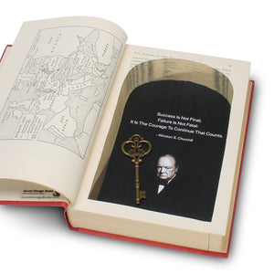 Churchill Book Safe - The Gathering Storm