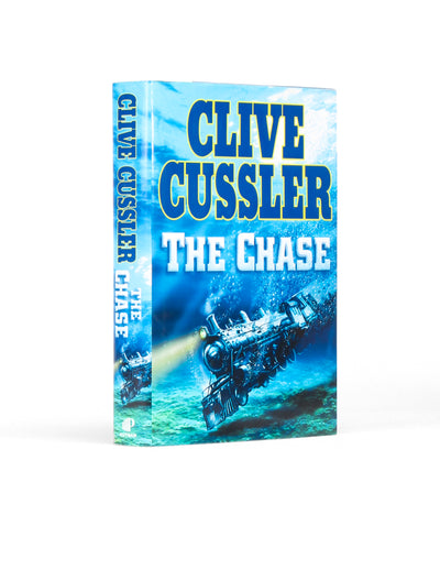 The Chase by Clive Cussler - Small Secret Storage Book Safe