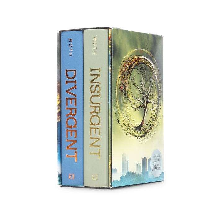Divergent Series Stack of TWO | Deep Hollow Book Safe