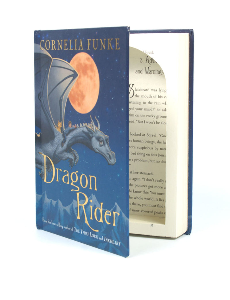 Dragon Rider by Cornelia Funke - Medium Hollow Book Safe - Secret Storage Books