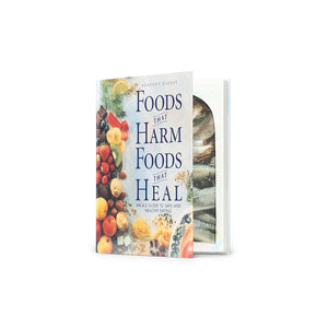 Foods That Harm, Foods That Heal- Medium Hollow Book