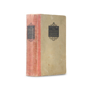 Funk and Wagnalls New College Standard Dictionary - Vintage Book Safe - Secret Storage Books
