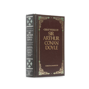 Great Works of Sir Arthur Conan Doyle - Large Hollow Book Safe - Secret Storage Books