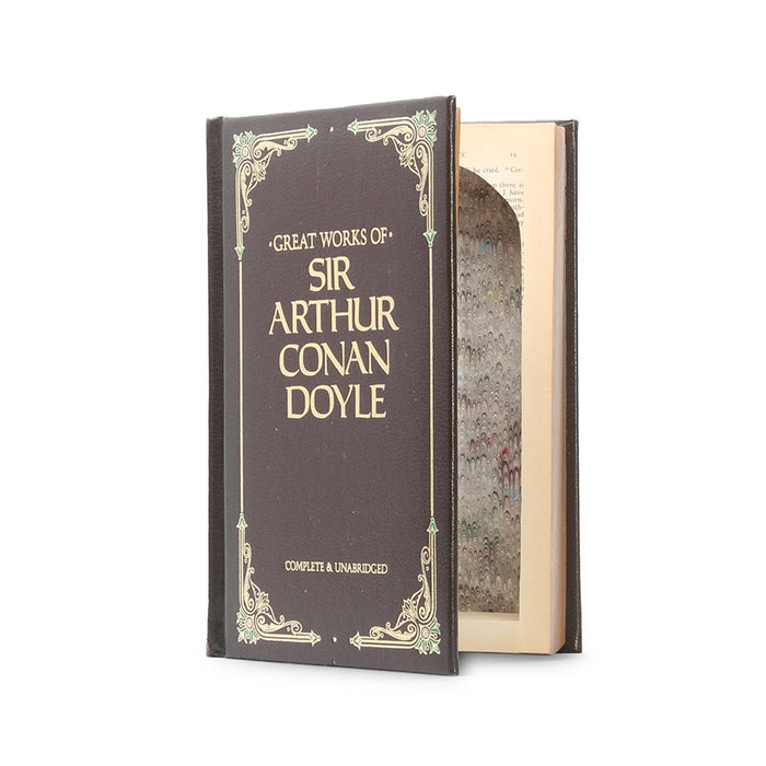 Great Works of Sir Arthur Conan Doyle - Large Hollow Book Safe