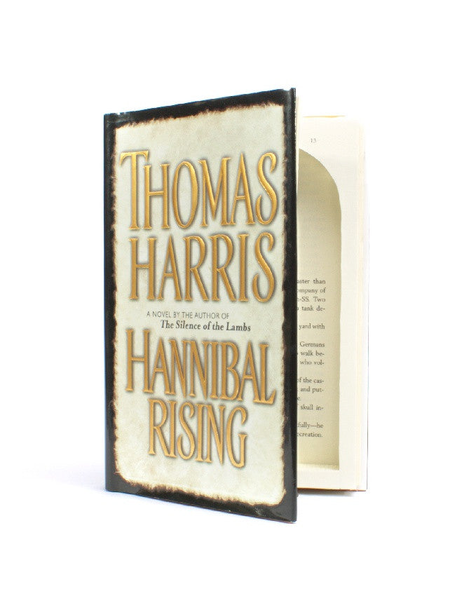 Hannibal  Rising by Thomas Harris - Medium Book Safe