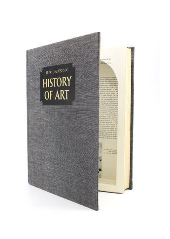 History of Art - XL Secret Hollow Book - Secret Storage Books - 1
