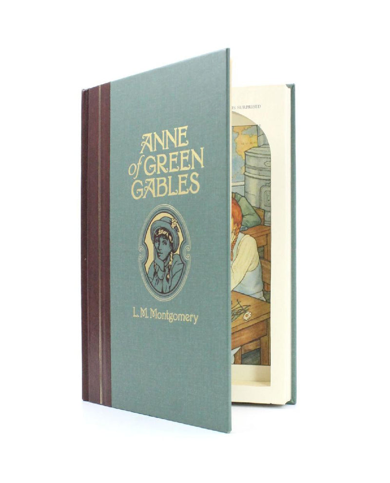 Anne of Green Gables by Lucy Maude Montgomery - Original Book Safe - Secret Storage Books