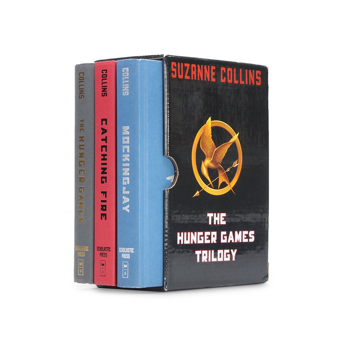 The Hunger Games Trilogy - Stack of THREE Secret Storage Books