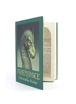 Inheritance by Christopher Paolini - XL Secret Storage Book Safe - Secret Storage Books
