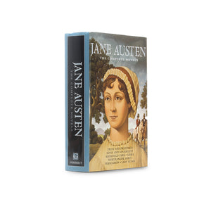 Jane Austen Complete Novels - XL Hollow Book Safe - Secret Storage Books