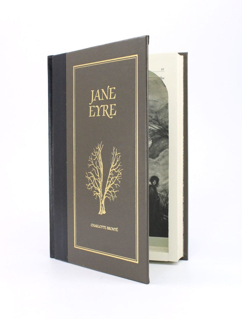 Jane Eyre by Charlotte Bronte - Small Book Safe - Secret Storage Books - 1
