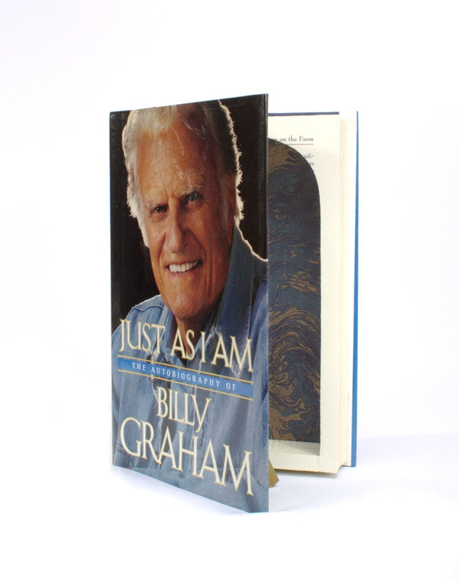 Just as I Am by Billy Graham - Large Hollow Book - Secret Storage Books