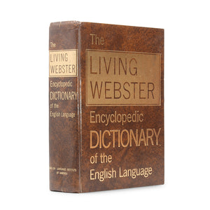 Living Webster Encyclopedic Dictionary - XXL Diversion Book Safe - Secret Storage Books