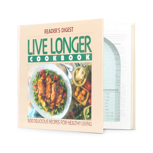Reader's Digest Live Longer Cook Book - Hollow Book