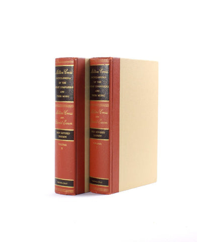 Encyclopedia of Great Composers SET of Two Secret Storage Books