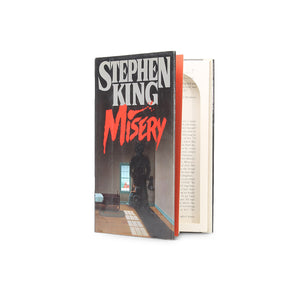 Misery by Stephen King - Small Book Safe - Secret Storage Books
