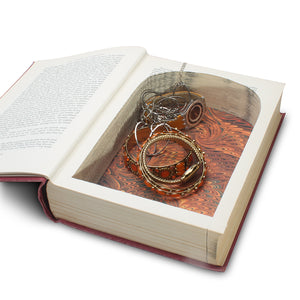 Outline of Literature - Extra Large Vintage Hollow Book - Secret Storage Books