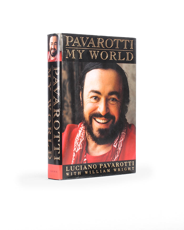 Pavarotti - My World - Medium Book Safe