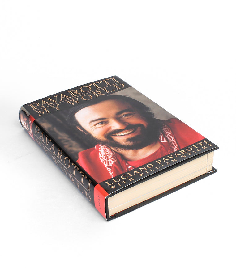 Pavarotti - My World - Medium Book Safe - Secret Storage Books